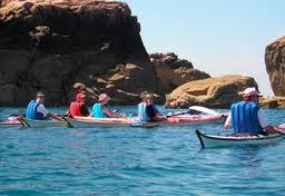 ALENTOURS kayak plougrescant