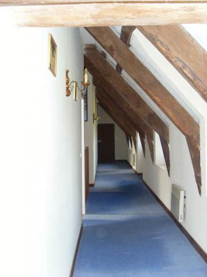 le grand couloir de l'etage