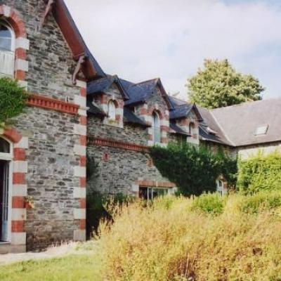 le grand logis coté jardin